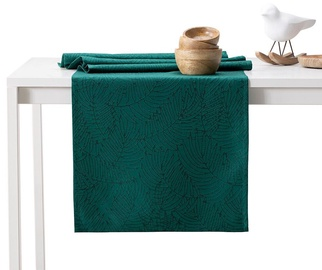 AmeliaHome Gaia AH/HMD Tablecloth Green 30x100cm