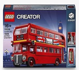 Конструктор LEGO Creator Лондонский автобус 10258, 1686 шт.