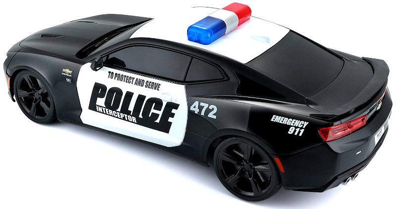 Maisto Tech Chevrolet Camaro Police Car 81276