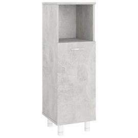 Шкаф для ванной VLX 802619, серый, 30 x 30 см x 95 см