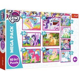 Dėlionė My little pony 10in1, 90353