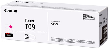 Тонер Canon T09, фуксия (magenta)