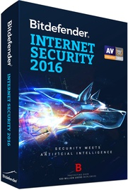 Bitdefender Internet Security 2016 1Y 1U