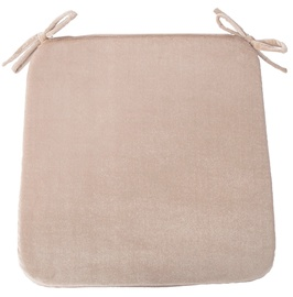 Home4you Deluxe 2 Chair Pad 39x39cm Beige
