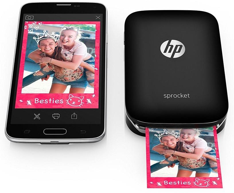 Printeris HP Sprocket Z3Z92A Black, krāsains