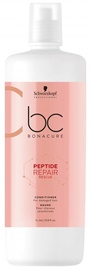 Plaukų kondicionierius Schwarzkopf Bonacure Peptide Repair Rescue Micellar Cleansing Conditioner, 1000 ml