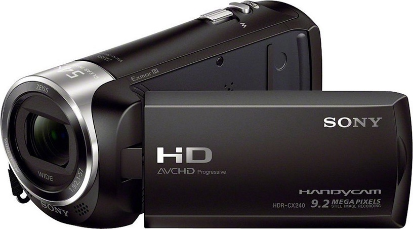 Sony HDR-CX240 E Black