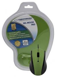 Esperanza EM125 Mouse + Gel pad Green