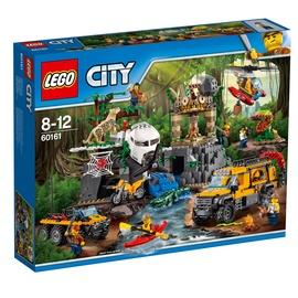 Konstruktorius LEGO City, Džiunglių tyrimų aikštelė  60161