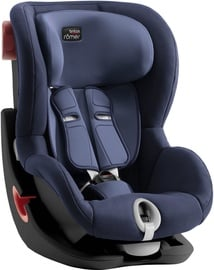 Automobilinė kėdutė Britax King II Black Series Moonlight Blue, 9 - 18 kg