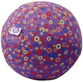 BubaBloon Balloon Ball Circles Print Purple