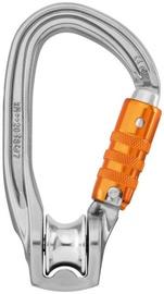 Petzl Carabiner Rollclip Z Triact-Lock Grey/Orange