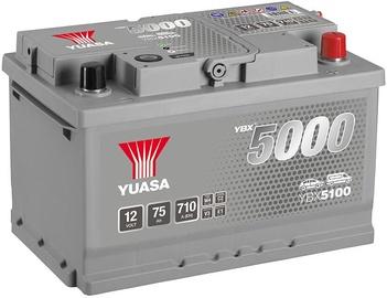 Аккумулятор Yuasa, 12 В, 75 Ач, 710 а