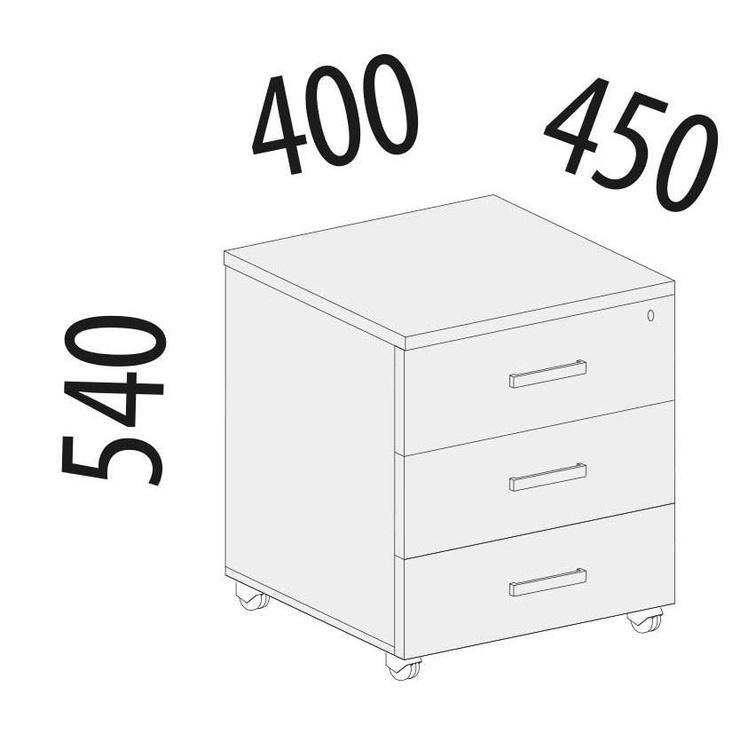 MN Alfa 64.47 Chest of Drawer