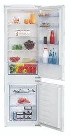 Įmontuojamas šaldytuvas Beko BCNA275K3SN White
