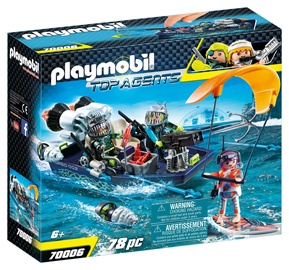 Constructor playmobil top agents 70006