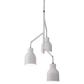 Pakabinamas modernus šviestuvas Searchlight Miami 8213-3WH, 3 x 7W E27