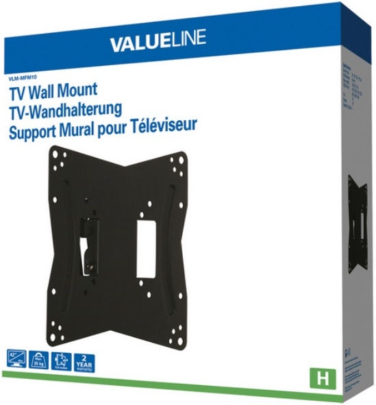 ValueLine VLM-MFM10 Universal Wall Mount 26-42''