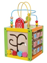 EcoToys Educational Wooden Cube 1004p