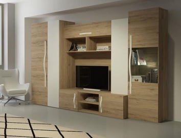 BogFran Wall Unit Melbourne San Remo Oak