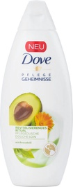 Dušo želė Dove Invigorating Avocado, 250 ml
