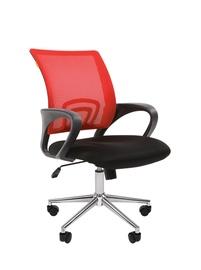 Офисный стул Chairman 696, черный/красный