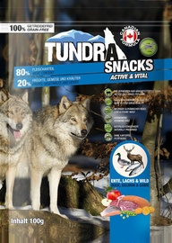 Tundra Snacks Active & Vital With Duck & Salmon 100g