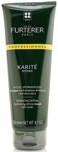 Kaukė plaukams Rene Furterer Karite Hydra Hydrating Ritual Shine Mask, 250 ml