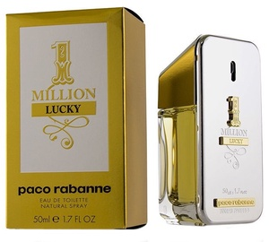 Parfüümid Paco Rabanne 1 Million Lucky 50ml EDT