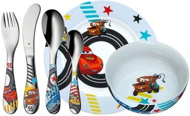 WMF Children's Cutlery Set, 6-piece Disney Cars 2