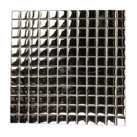 Stiklo mozaikos SM139 CHROME, 30x30 cm