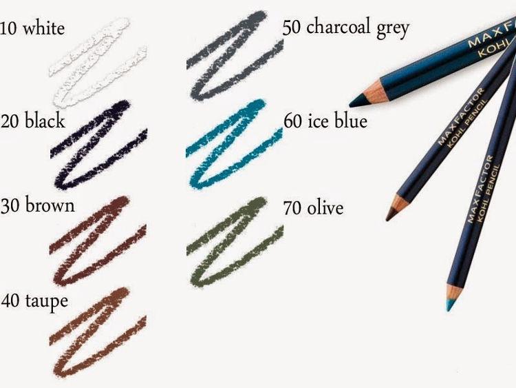 Max Factor Kohl Pencil 60 Ice Blue