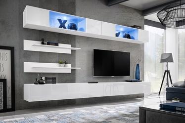 ASM Fly I Living Room Wall Unit Set LED White