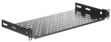 Riiul Netrack Equipment Shelf 19'' 1U/200mm Black