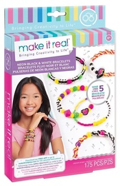 Make It Real Retro Neon Black & White Bracelets
