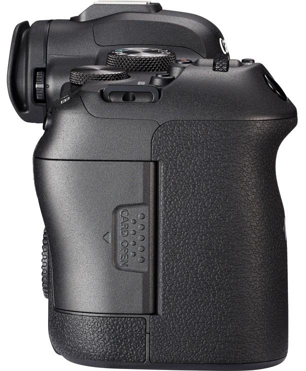 Canon EOS R6 Body + Mount Adapter EF-EOS R Black