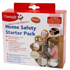 Clippasafe 16 Piece Home Safety Starter Pack