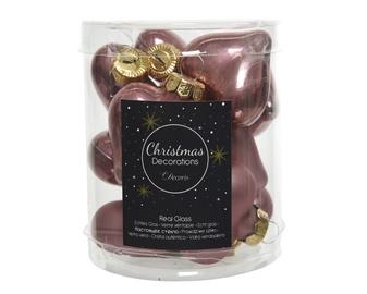 Jõulupuu ehe 010114 Pink, 12 tk