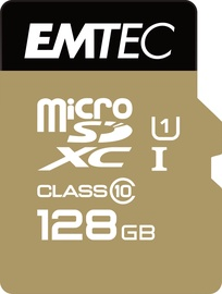 Emtec 128GB Gold+ Micro SDHC Class10