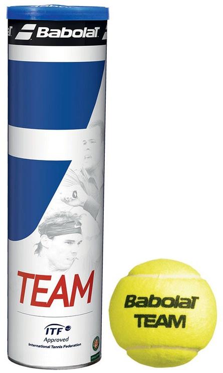 Tennise pall Babolat Team Tennis Balls 4pcs