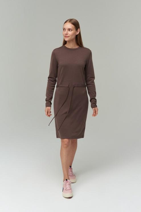 Audimas Merino Bamboo Blend Dress Peppercorn XL