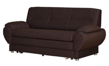 Sofa-lova Bodzio Livonia 3 Fabric Dark Brown, 184 x 76 x 89 cm