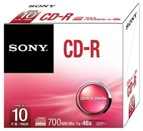 Sony CD-R 700MB 48x Slim 10pcs
