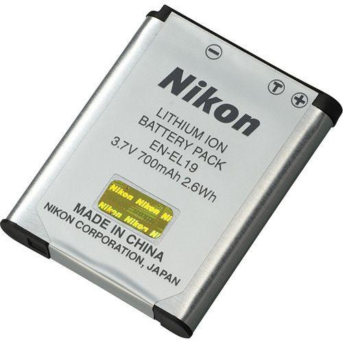 Aku Nikon EN-EL19 Lithium-Ion Battery 700mAh