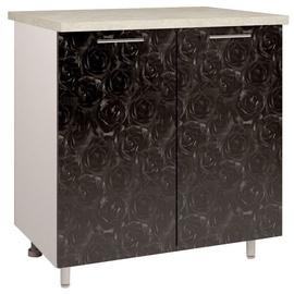 OEM Kitchen Bottom Cabinet 80 D2 4 Black Rose