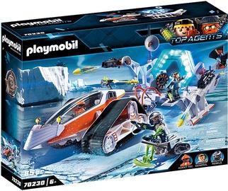 Playmobil Spy Team Command Sled 70230