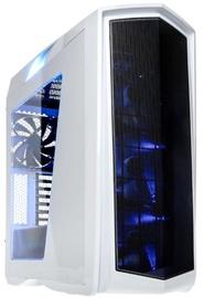 SilverStone Case Primera PM01 White Blue LED