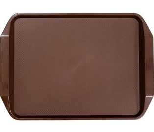 Stalgast Square Non Slip Tray Brown 43x30.5x3cm