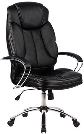 MN Office Chair Black Leather LK-12