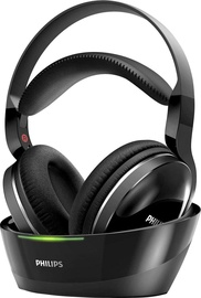 Ausinės Philips SHD8800 Wireless TV Headphones Black